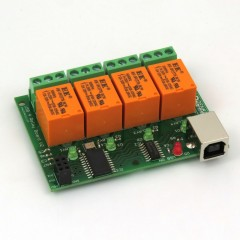Denkovi USB Relay Module  - 4 Channels