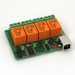 Denkovi USB Relay Module  - 4 Channels