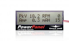 PowerPanel LCD screen